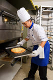 Pizza is ready Stock Photos