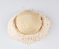 Pizza recipe - Dough Royalty Free Stock Photography