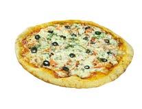 Pizza Regina Stock Photo