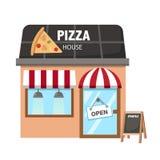 Pizza restaurant vector Stock Images