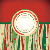 Pizza - retro antique template vector illustration