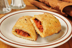 Pizza rolls Royalty Free Stock Photography