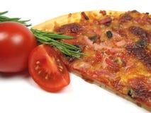 Pizza and rosemary Stock Photos