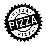 Pizza rubber stamp Royalty Free Stock Photos