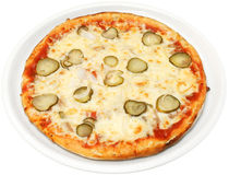 Pizza Rustica Obrazy Stock