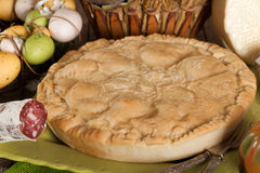 Pizza Rustica, Traditional Neapolitan Cuisine Stock Image