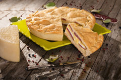 Pizza Rustica Stock Images