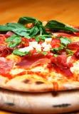 Pizza saboroso imagem de stock royalty free