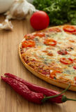 Pizza saboroso Imagem de Stock Royalty Free