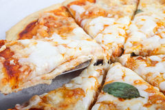 Pizza saboroso foto de stock