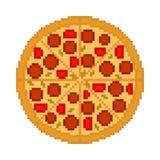 Pizza saboroso fresca do vetor Fotografia de Stock Royalty Free