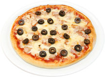 Pizza Salsiche Royalty Free Stock Photography