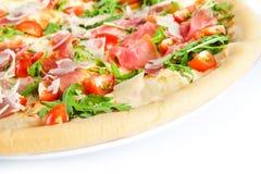 Pizza sana fresca Fotografia Stock Libera da Diritti