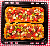 Pizza sandwich Royalty Free Stock Images