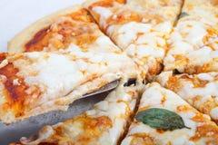 Pizza saporita Fotografia Stock