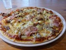Pizza saporita Immagini Stock Libere da Diritti