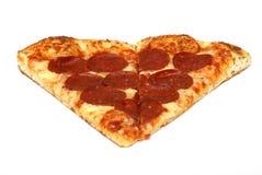 Pizza-Scheibe Lizenzfreies Stockbild