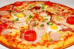 Pizza, Schnellimbiß Lizenzfreies Stockbild