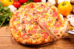 Pizza sciles Royalty Free Stock Photo
