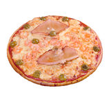 Pizza with seafoods Royalty Free Stock Photography