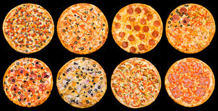 pizza set Obraz Royalty Free