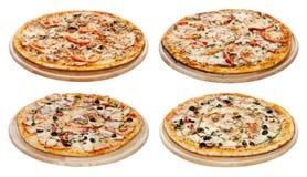 Pizza set Zdjęcia Stock