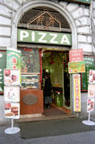 Pizza shop Stock Image