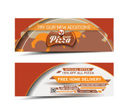 Pizza Shop Banner Stock Photography