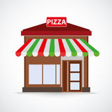 Pizza Shop Royalty Free Stock Photo