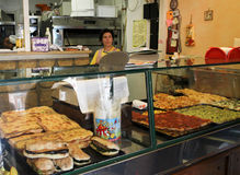 Pizza shop in Rome Royalty Free Stock Photo