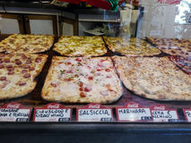 Pizza shop in Rome Royalty Free Stock Photography