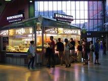 Pizza shop vendor Stock Photo