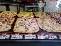 Pizza shoppar i Rome Royaltyfri Fotografi
