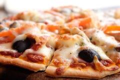 pizza się blisko Obraz Royalty Free