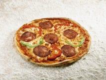 Pizza siciliana Stock Photos