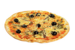 Pizza Siciliano lizenzfreie stockbilder