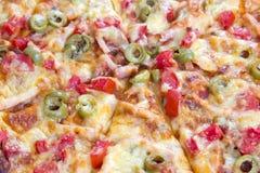 Pizza składniki Zdjęcia Royalty Free