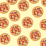 Pizza skin Stock Photos