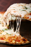 Pizza slice. Delicious and tasty pizza slice Royalty Free Stock Photos