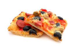 Pizza Slices Royalty Free Stock Photography
