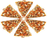 Pizza Slices Royalty Free Stock Images