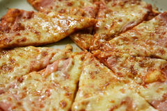 Pizza slices Royalty Free Stock Photos