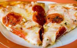 Pizza Slices Stock Image