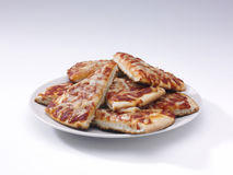 Pizza slices Stock Images