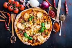 pizza smakowita obrazy royalty free
