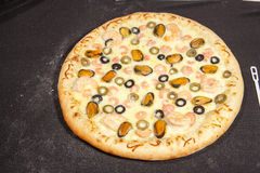 Pizza snabbmat Arkivbilder