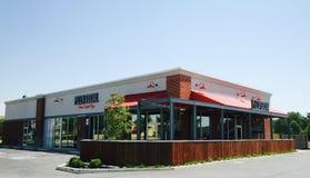 Pizza socjalny restauracja Obraz Stock