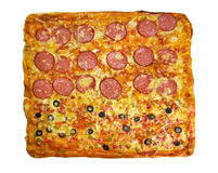 Pizza strips Royalty Free Stock Images