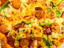 Pizza Supreme Photo libre de droits