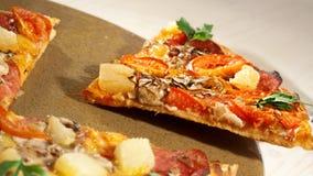 Pizza sztandar zdjęcie stock